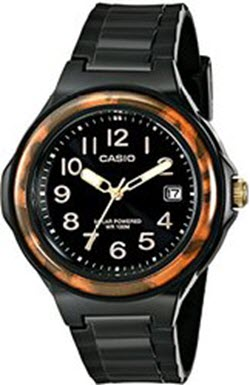 Casio Women's LX-S700H-1BVCF Solar Black Watch