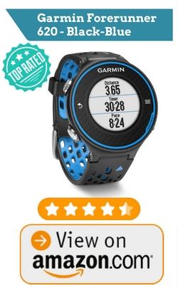 Garmin Forerunner 620 - Black-Blue