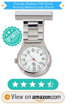 Prestige Medical 1740 Nurse Nursing Medical Lapel Watch