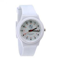 Prestige Medical Nurse White Scrub Watch