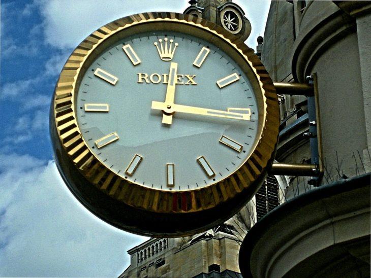 Rolex Building Clock