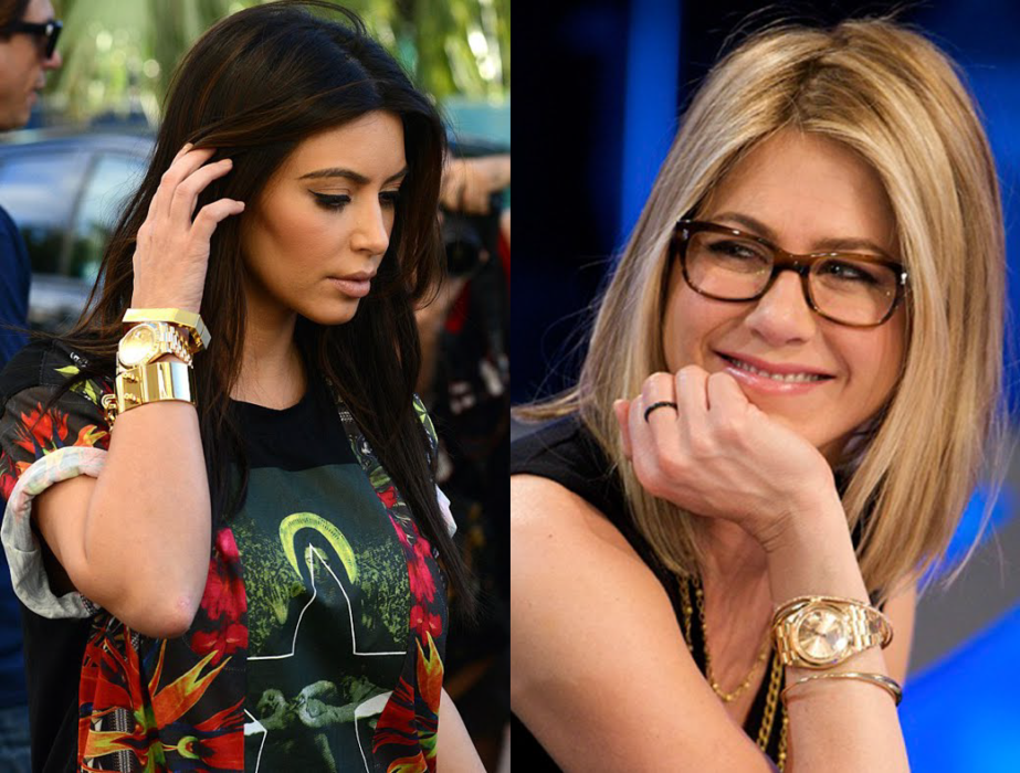 The fabulous and amazing watches female celebrities wear for Celebrity sextortion watch